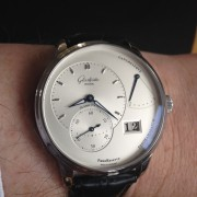 I first became aware of Glashütte Original many years ago when I saw a GO Panoreserve