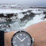 An Icelandic adventure with an IWC Aquatimer