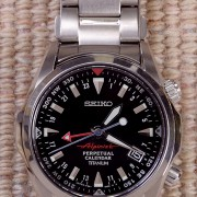 Seiko 8F56 Alpinist family complete! Black SBCJ019 Unboxing