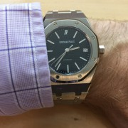 Audemars Piguet Royal Oak 14790 back from the spa