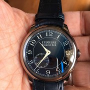 Something new & something blue arrived – FP Journe Chronometre Bleu