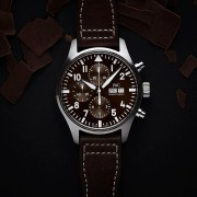 "Introducing the IWC Pilot Chronograph Edition ""Antoine de Saint Exupéry"" Brown"