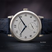 A few photos of a new arrival: A. Lange & Söhne 1815 Silver Dial 18K White Gold