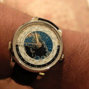 A wonderful gift: Montblanc Heritage Spirit Orbis Terrarum Unicef ARABIC World Time LE