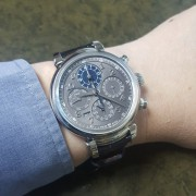 "The Da Vinci Code: IWC Da Vinci Perpetual Calendar Chronograph with a new ""Fly back"" function that makes it more versatile"
