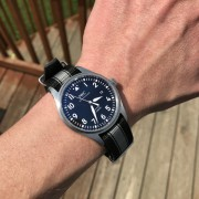 New Shoes for my IWC Mark XVIII (OEM Nato!)