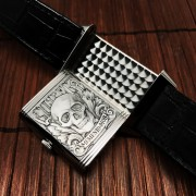 JLC Reverso Grande Night & Day perfected by Master Engraver David Riccardo