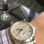 Travel Around Europeaccompanied my Jaeger-LeCoultre Master Hometime