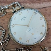 Vern's watch: 1949 Lord Elgin pocket watch