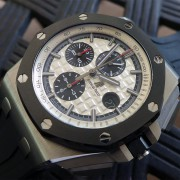 Back on the wrist – I love this model Audemars Piguet ROO