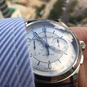 "My first ""new release"" and I love it – Jaeger-LeCoultre Sector Dial Master Control Chronograph"