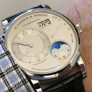 Lange 1 Moon Phase, which integrates a day/night indicator into the moon display