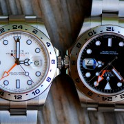 AR Coating on Rolex EXII curiosity question