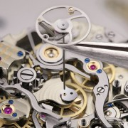 "Assembly of the A. Lange & Söhne TOURBOGRAPH PERPETUAL ""Pour le Mérite"""