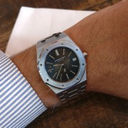 Which of Gerald Genta's designs is considered most iconic? A-Series Jumbo Royal Oak