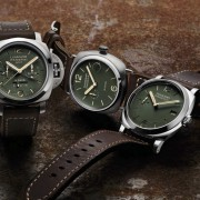 Introducing the Officine Panerai SE Green Dials – PAM735 – PAM736 – PAM737