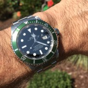 Special Rolex Submariner LV Fresh from RSC Dallas Service