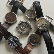 My indies so far: Speake-Marin, Ochs und Junior, NORD