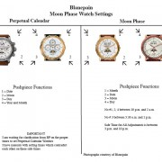 Blancpain perpetual calendar 5395 operating instructions?