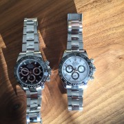 Luck be a lady tonight – my wife fell enamored with the Rolex Daytona C