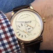 "I ""jumped"" for this one – A. Lange & Söhne Richard Lange Jumping Seconds"