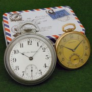 Vintage American heavy metal #1 – an assortment of pocket watches