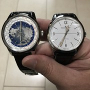 Visiting Chicago with a JLC Geophysic 1958 and Geophysic True Second Universal Time