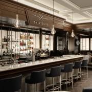 IWC opens Les Aviateurs bar in Geneva