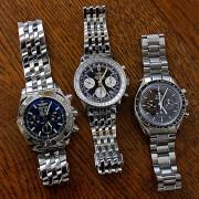 My opinion of these three: Breitling Blackbird, Breitling Navitimer & Omega Speedmaster