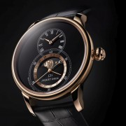 Basel Preview: Jaquet Droz Grande Seconde Moon Black Enamel
