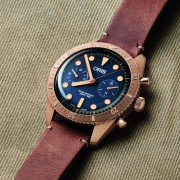 Introducing the Oris Carl Brashear Bronze Chronograph