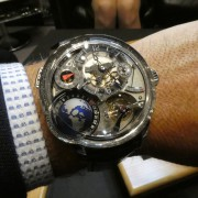 SIHH 2018 Greubel Forsey live photos by NAD