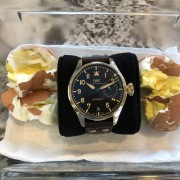 Patina problems – two boiled eggs & an IWC Big Pilot Bronze Heritage