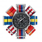 Omega Releases Flag-Inspired NATO Straps for Olympics