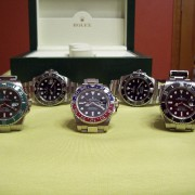 A pic of my Rolex cerachrom models together