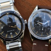 Two of Three: Omega 60th Anniversary Seamaster + Omega 60th Anniversary Speedmaster
