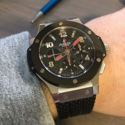 Happy to be the new owner – Hublot Big Bang Asia Steel