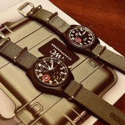 IWC Pilot TOPGUN Strike Fighter Collection for SFTI graduate instructors