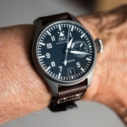 "Just picked this up at FedEx – IWC Big Pilot 5010-07 ""Tribute to 5002″ Safari LE"