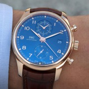 Introducing the IWC for Bucherer Blue Edition Portugieser Chronograph Classic
