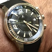 JLC Polaris Memovox–  I just picked this up directly from Jaeger-LeCoultre