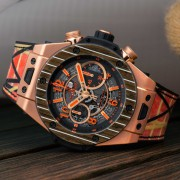 Introducing the Hublot Unico Teak Italia Independent