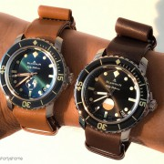 Blancpain Fifty Fathoms duo – Ocean Commitment & Tribute to Fifty Fathoms MilSpec