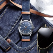 Introducing the Omega Denim Railmaster