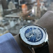 Traveling the world with Jaeger-LeCoultre – Geophysic Universal Time, Geophysic 1968, Reverso Reserve de Marche & AMVOX