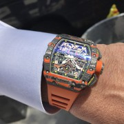 I was very fortunate to meet with the Richard Mille team