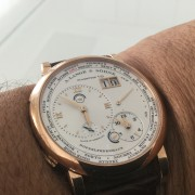 A. Lange & Söhne TimeZone from New York in Bonn Germany