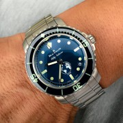 More photos of the Blancpain Fifty Fathoms Ocean Commitment III