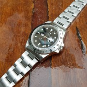 Finally back from service – Rolex Explorer II GMT. Great job by RSC Sydney