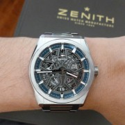 The new Zenith Defy joins my Zenith family